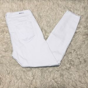 Kut from the Kloth Connie Ankle Skinny Jean White